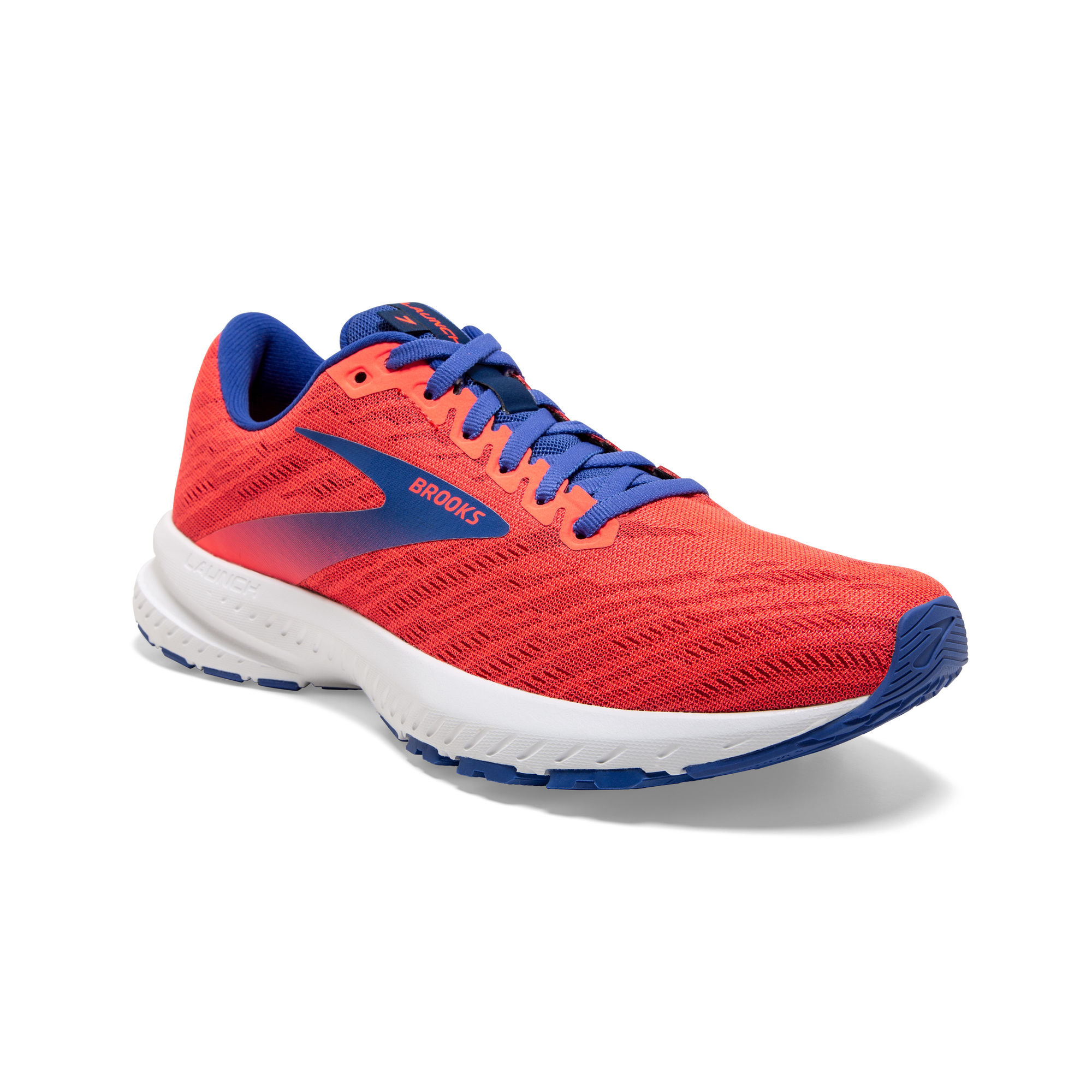 Brooks Lady Launch 7 (Rot Blau)