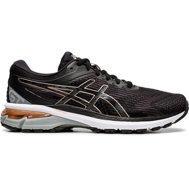 Asics Lady GT-2000 8 2A in Schwarz Gold