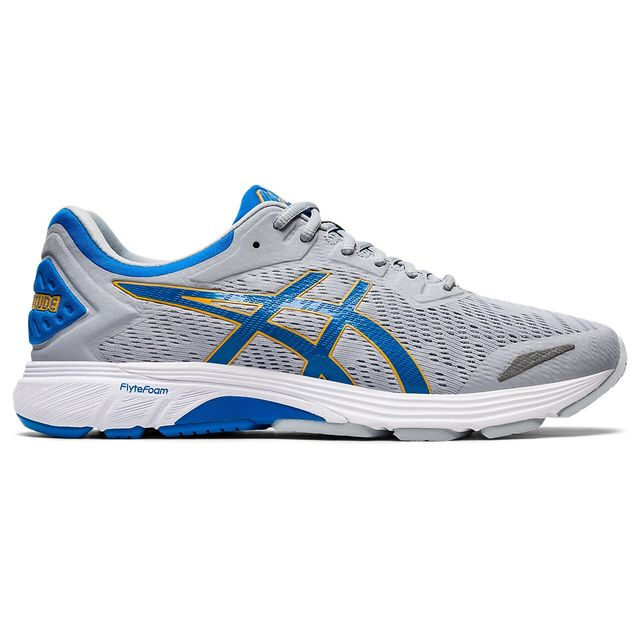 Asics Gel-Fortitude 9 2E in Grau Blau