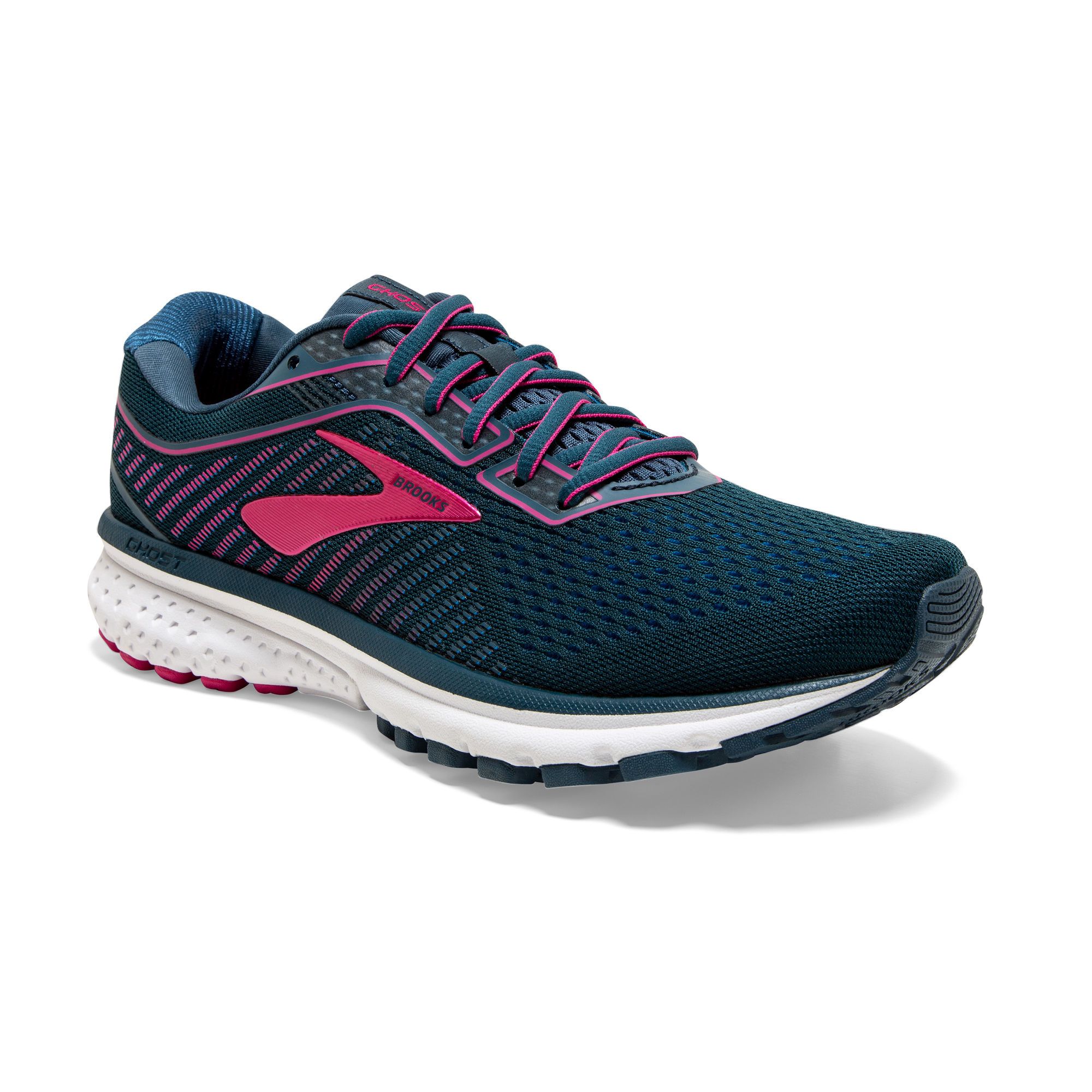 Brooks Lady Ghost 12 B (Blaugrün Lila)