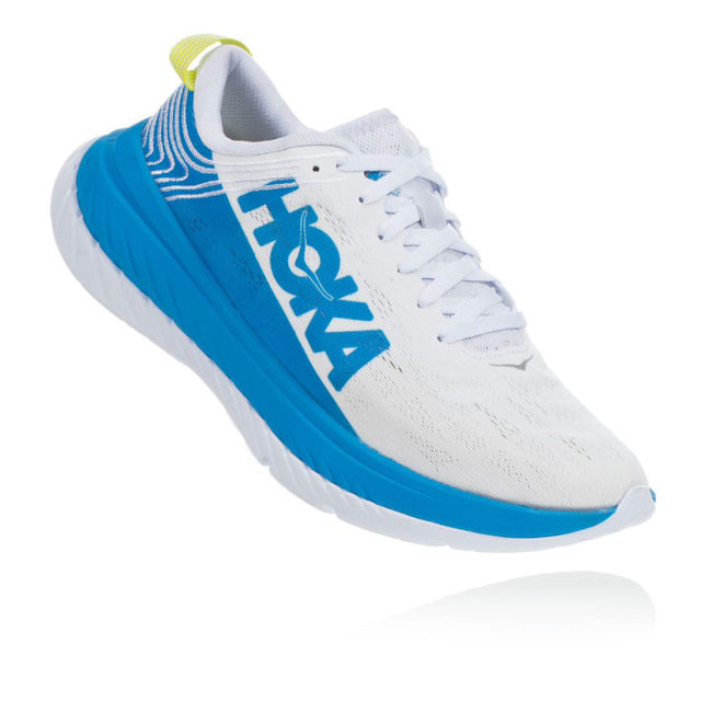 Hoka One One Lady Carbon X (Blau Weiß)