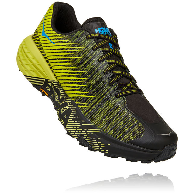 Hoka One One Lady Evo Speedgoat in Gelb Schwarz