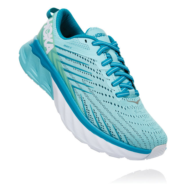 Hoka One One Lady Arahi 4 (Antiqua Sand Carribean Sea)