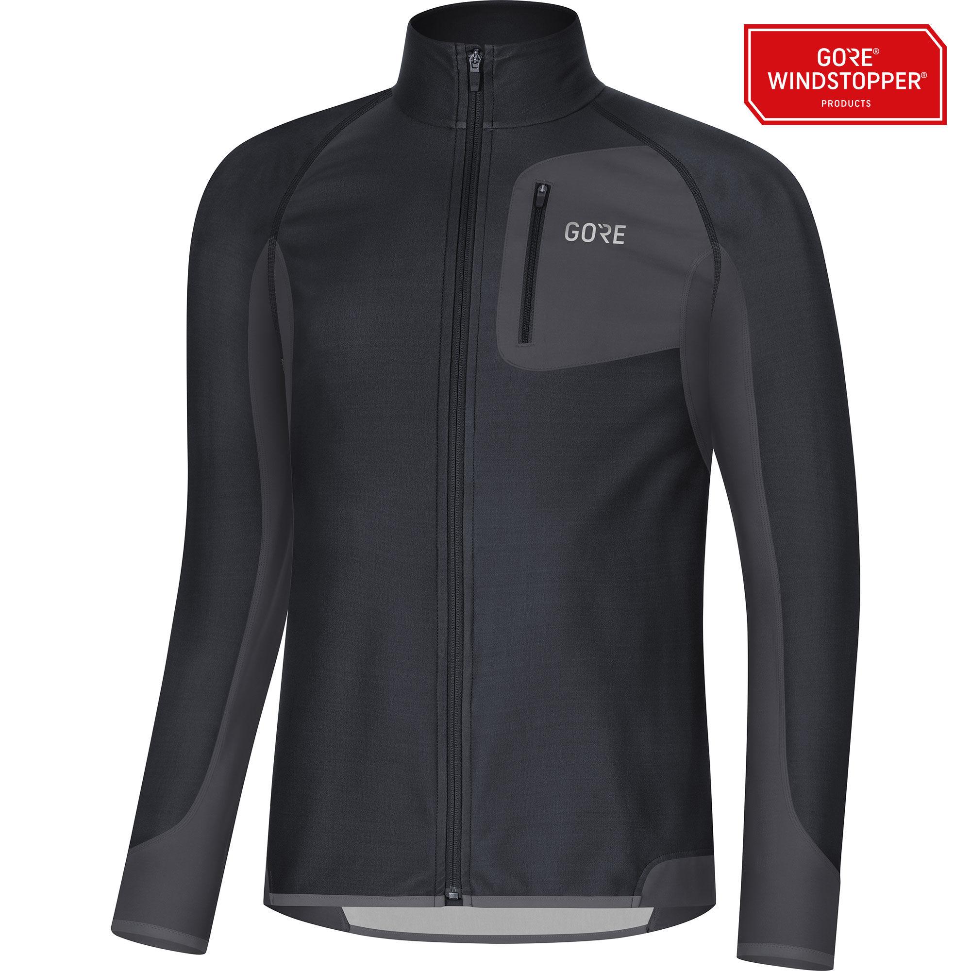 Gore R3 Partial GWS Shirt (Schwarz)