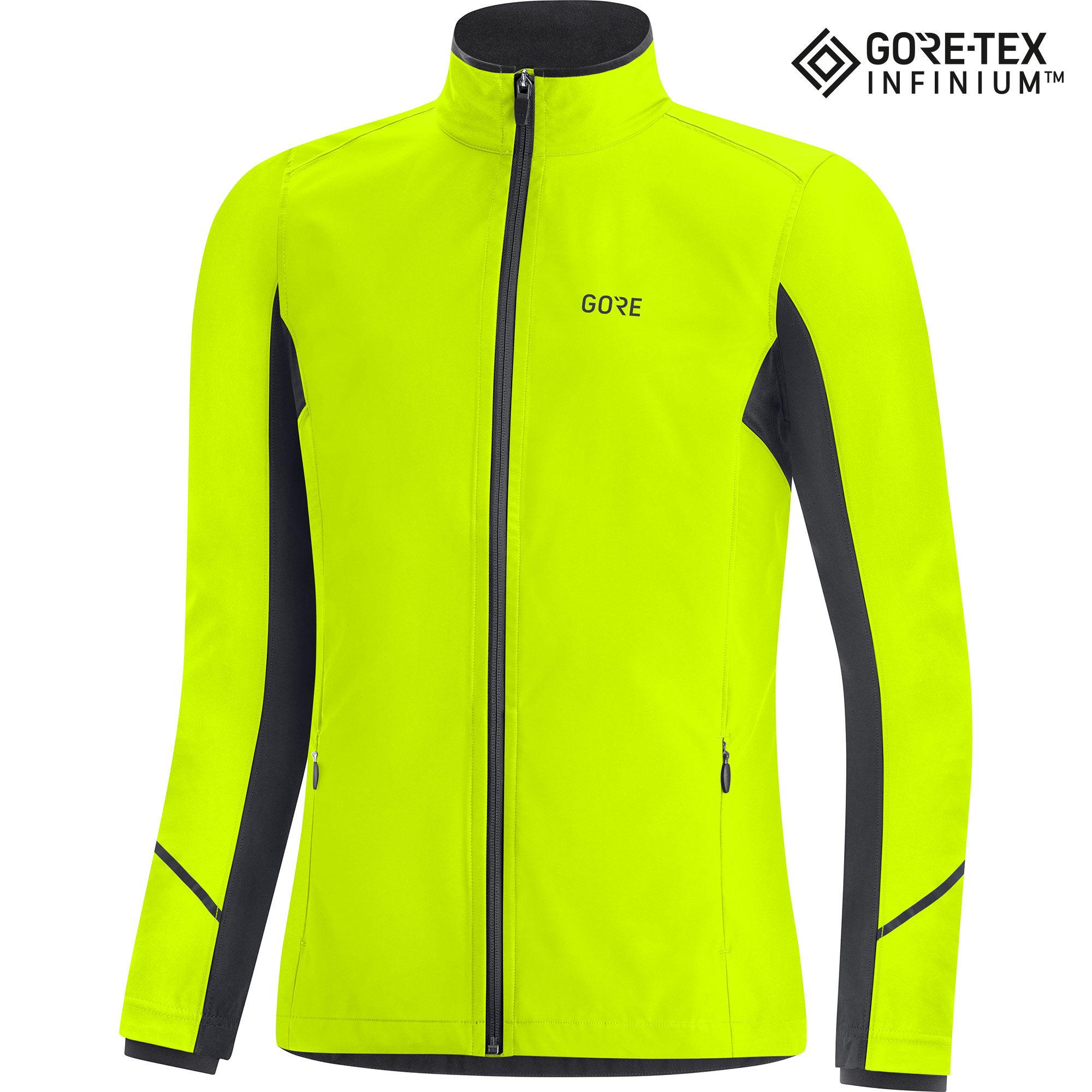 Gore Lady R3 Gore-Tex Infinium Partial Jacket (Neongelb)
