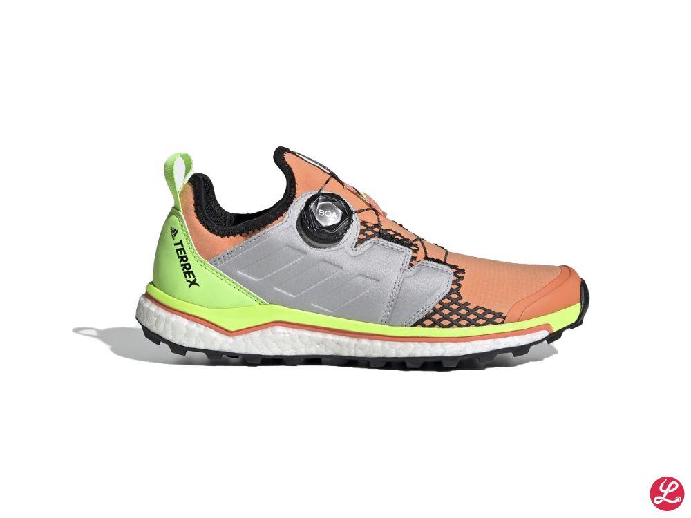 adidas Terrex Agravic Boa w (Orange Grün Silber Weiß)
