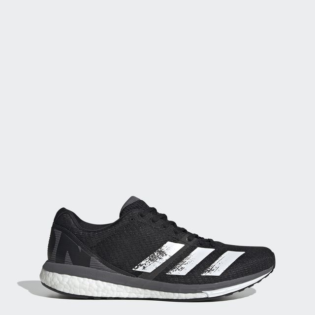 adidas Adizero Boston 8 in Schwarz