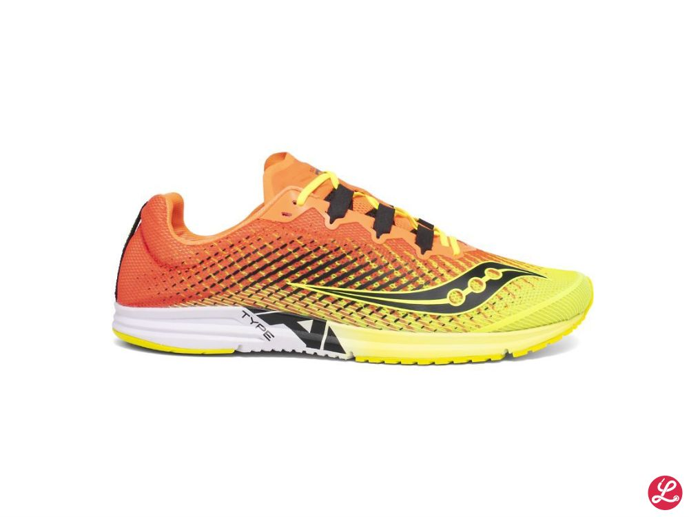 Saucony Lady Type A 9 (Orange Gelb)