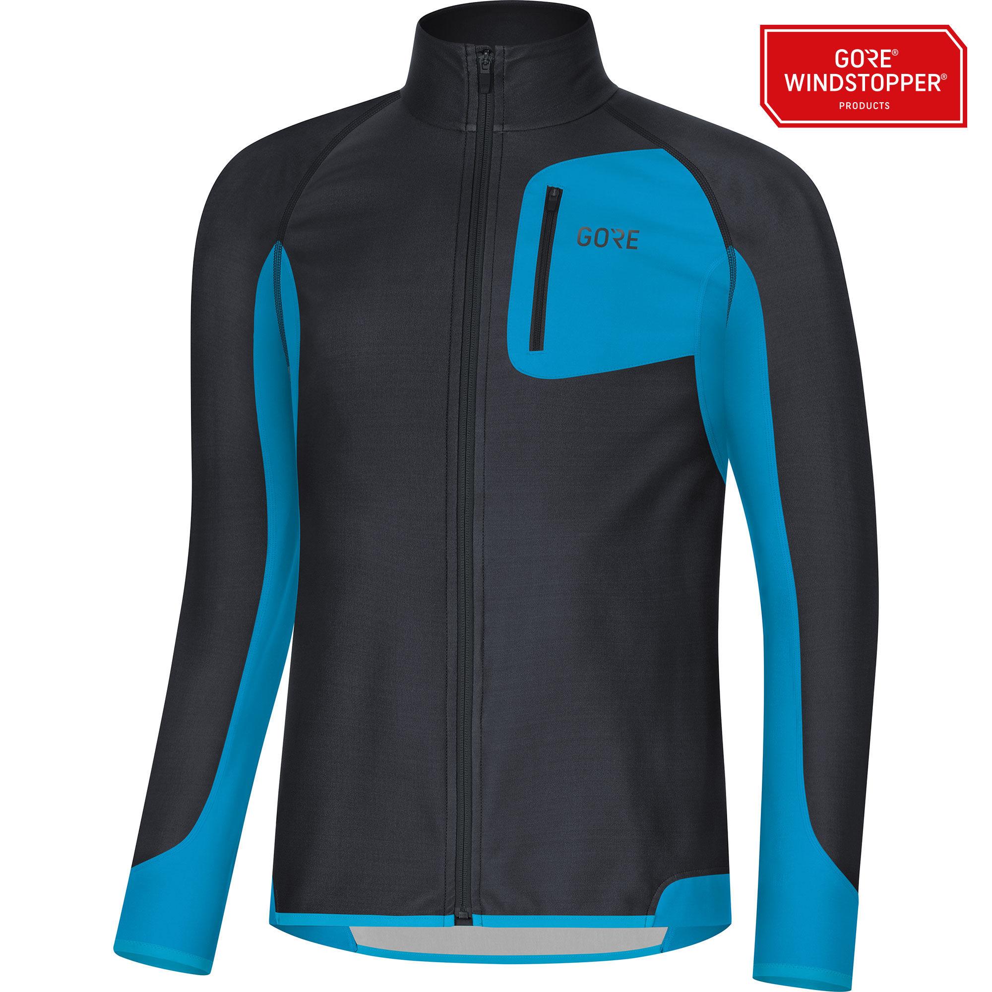 Gore R3 Partial GWS Shirt (Dunkelblau Blau)