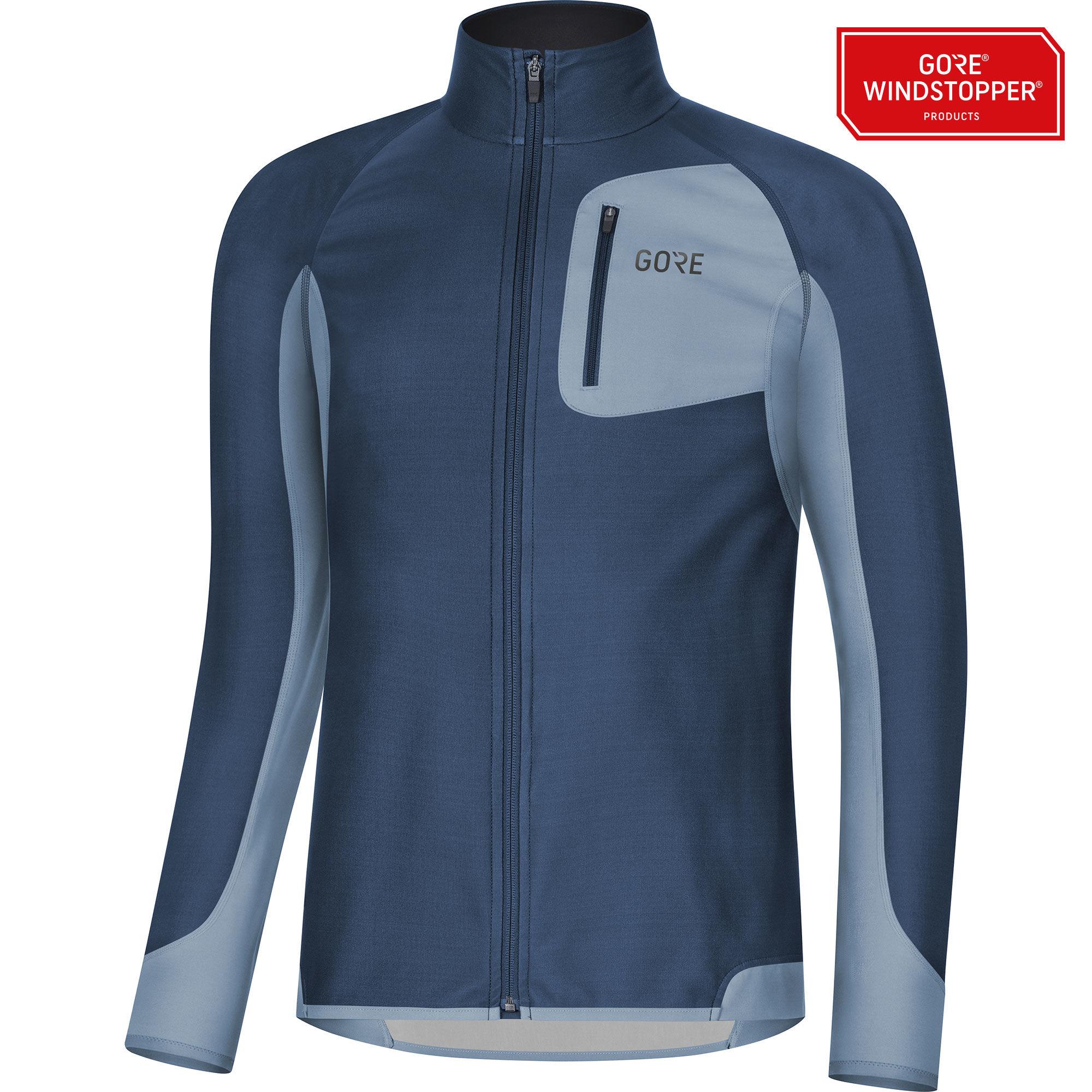 Gore R3 Partial GWS Shirt in Blau