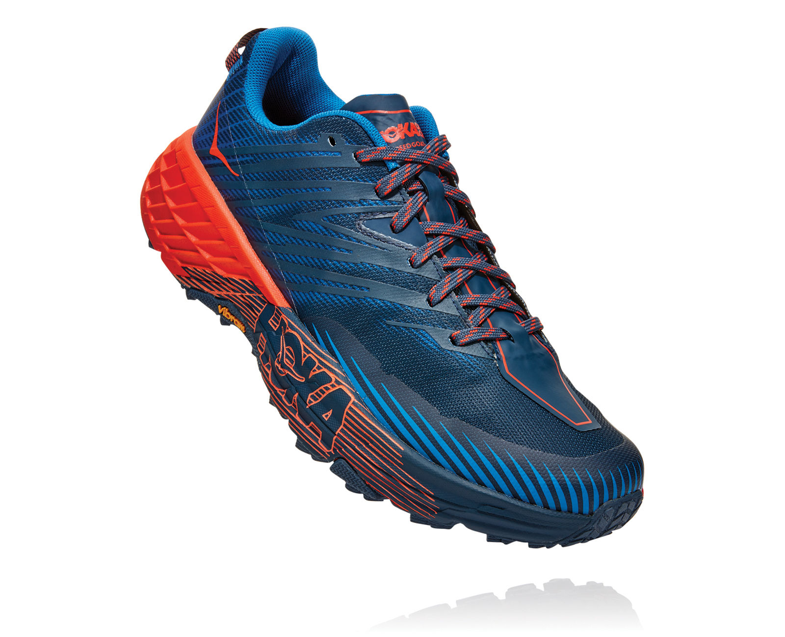 Hoka One One Speedgoat 4 (Blau Orange)