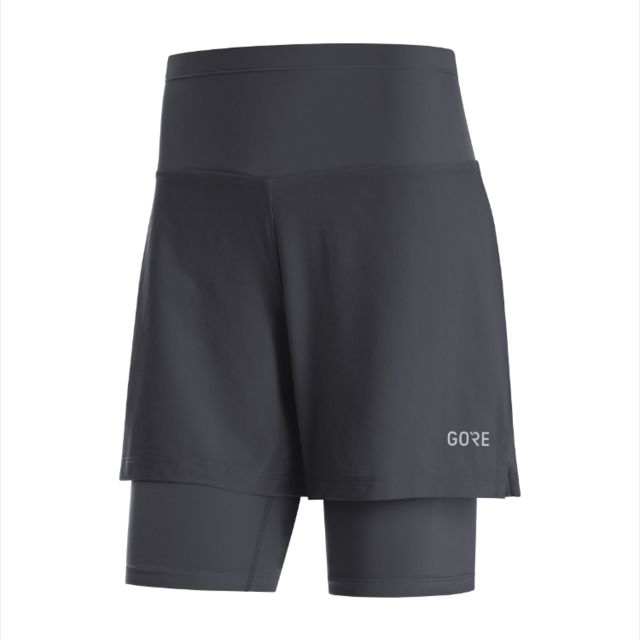 Gore R5 Lady 2in1 Shorts (Schwarz)