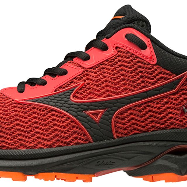 Mizuno Wave Rider TT (Rot Orange)