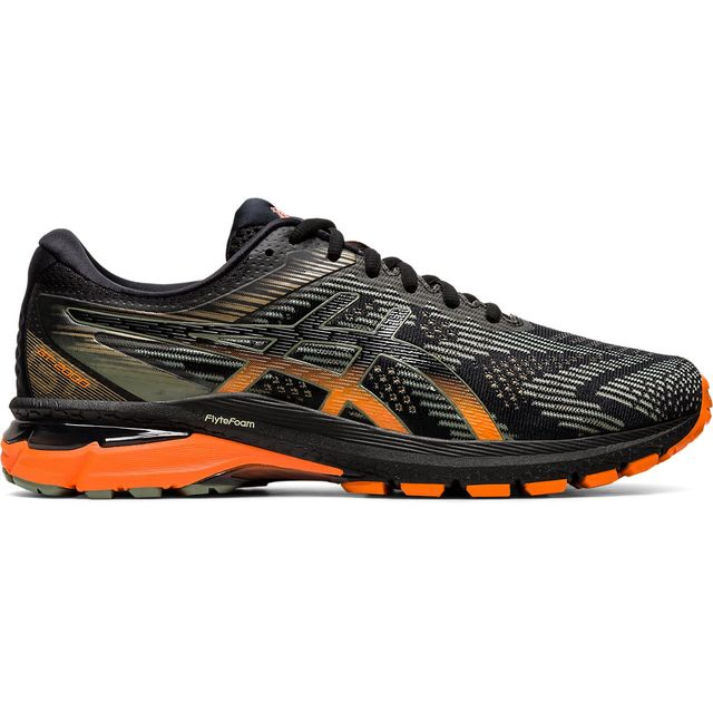 Asics GT-2000 8 Trail in Schwarz Orange