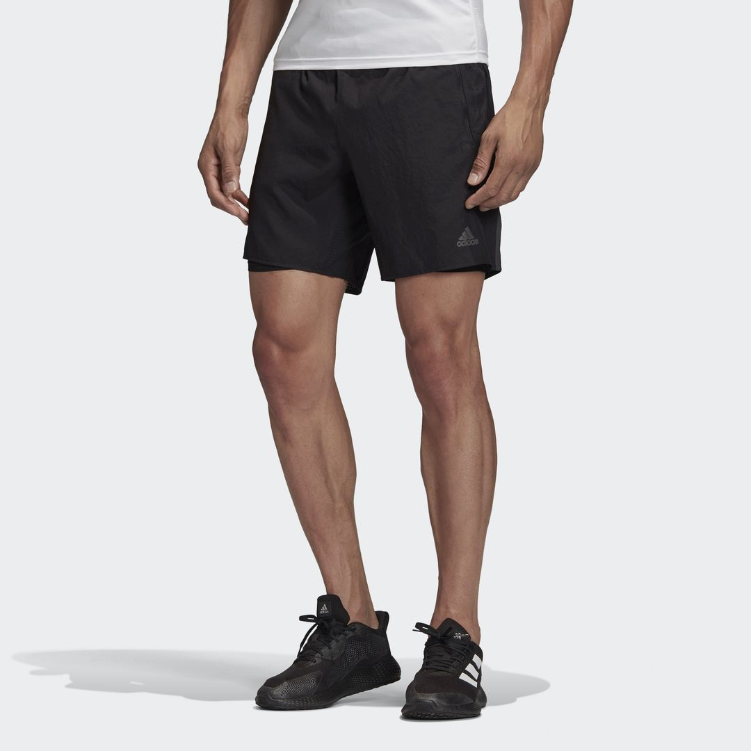 adidas Saturday 2in1 Ultra Shorts (Schwarz)