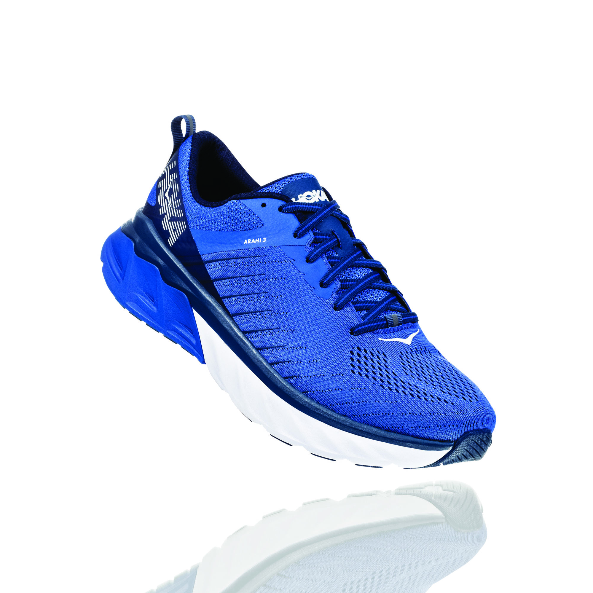 Hoka One One Arahi 3 in Blau