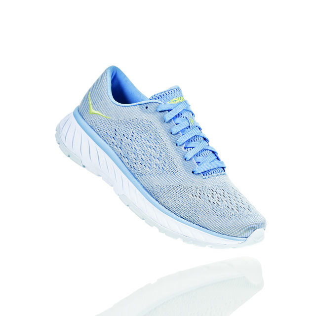 Hoka One One Lady Cavu 2 in Blau Grau