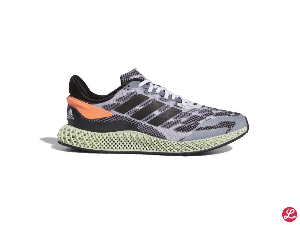 adidas 4D Run 1.0 (Schwarz Grau Orange Grün)