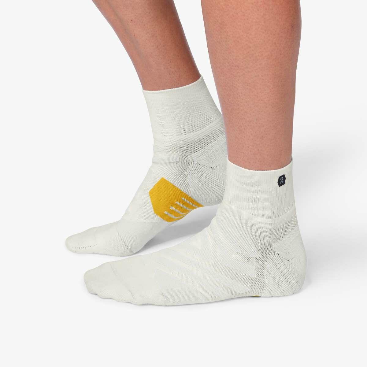 ON Mid Sock White Ice (White Ice)