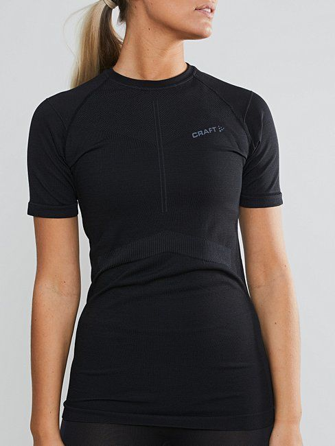 Craft Lady Active Intensity Shortsleeve (Asphalt Touch)