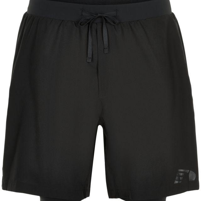 Newline 2in1 Shorts (Schwarz)