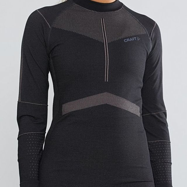 Craft Lady Active Intensity Longsleeve in Schwarz