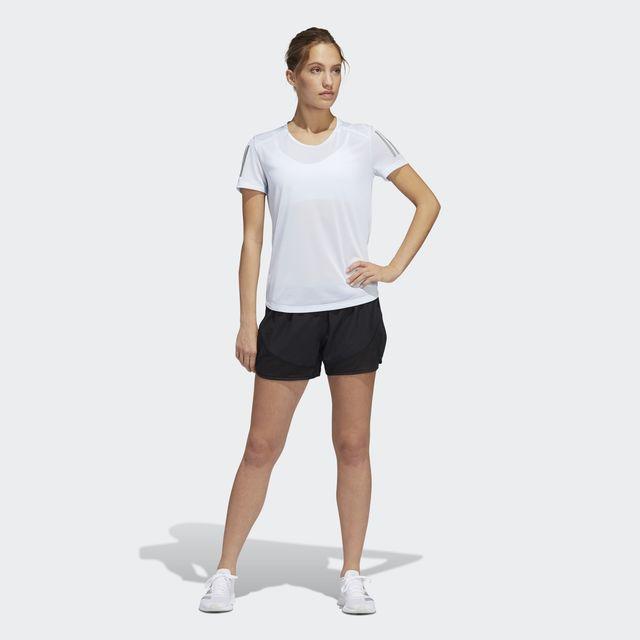 adidas Lady Own The Run Tee (Sky Tint)