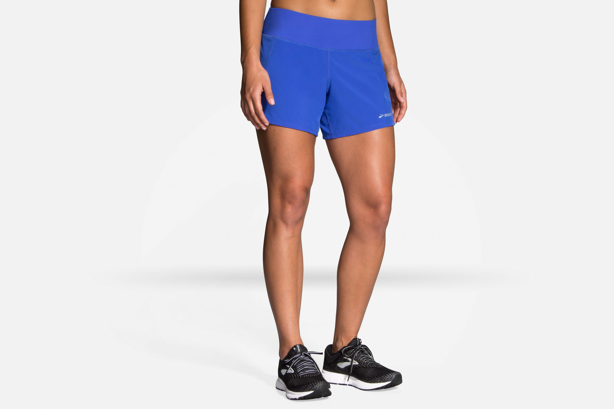 "Brooks Lady Chaser 5"" Short (Blau)"