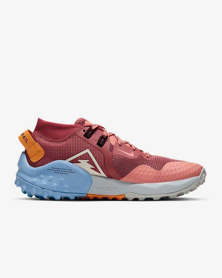 Nike Lady Zoom Wildhorse 6 (Rosa Grau Blau)