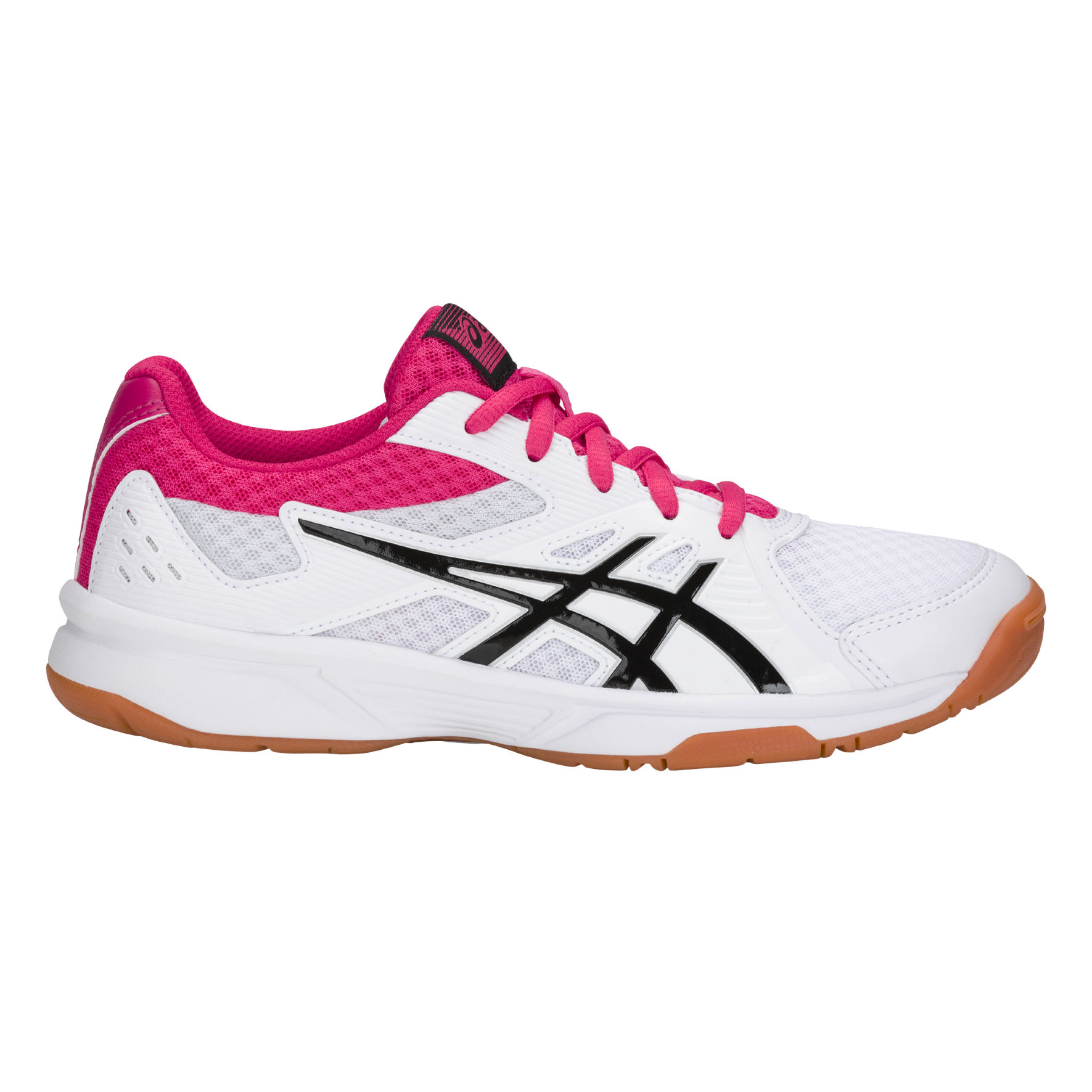 Asics Lady Upcourt 3 in Weiß Pink