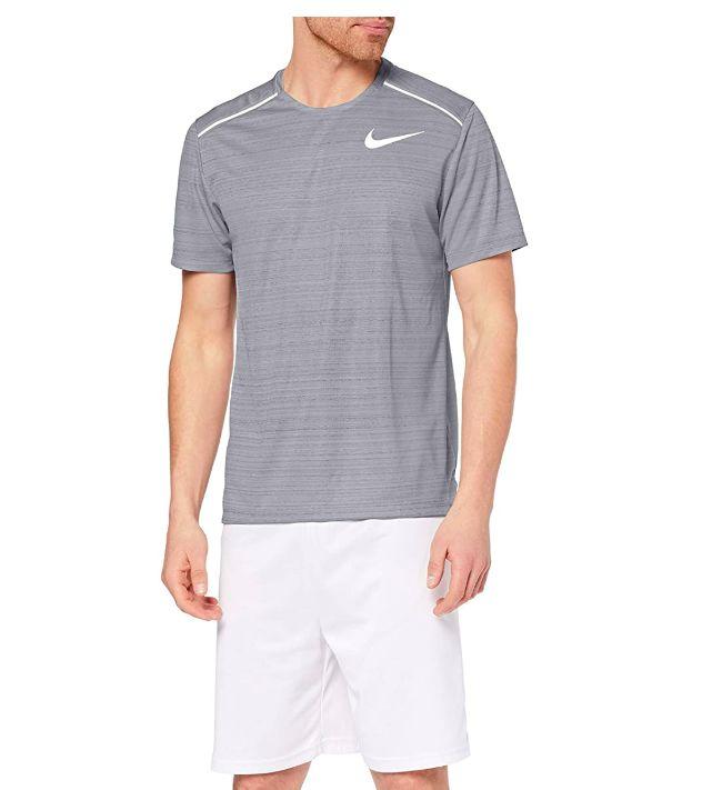 Nike Dry Miler Top SS (Grau)