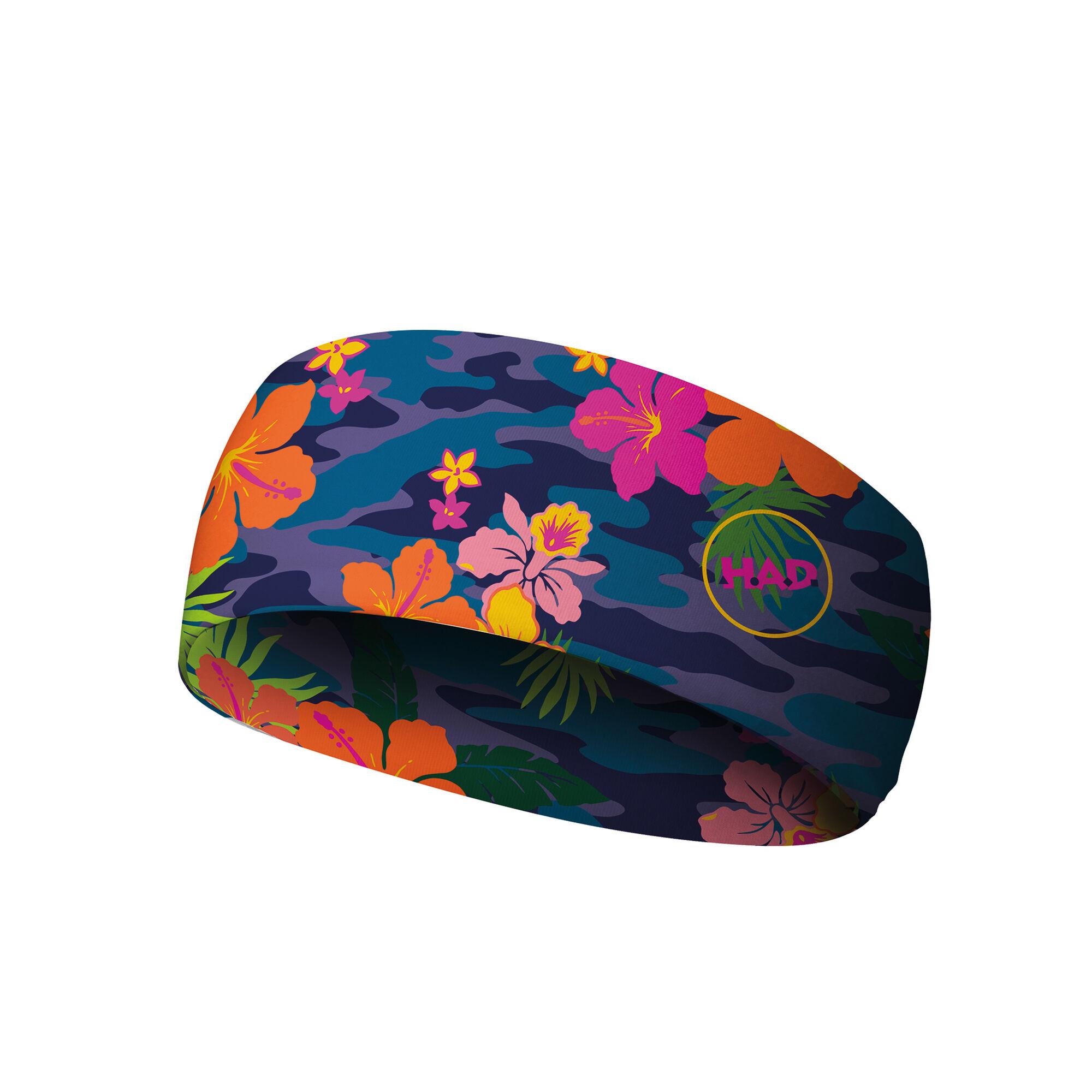 H.A.D. Coolmax Headband (Bahama Blumen)