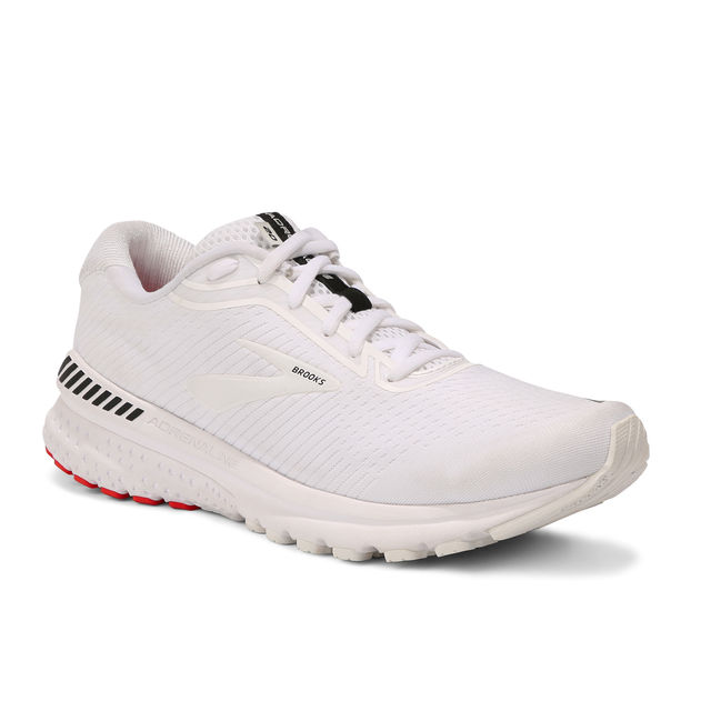 Brooks Adrenaline 20 D (White White Black)