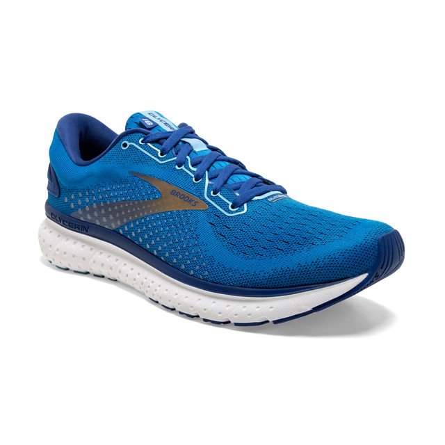 Brooks Glycerin 18 (Blue Mazarina Gold)
