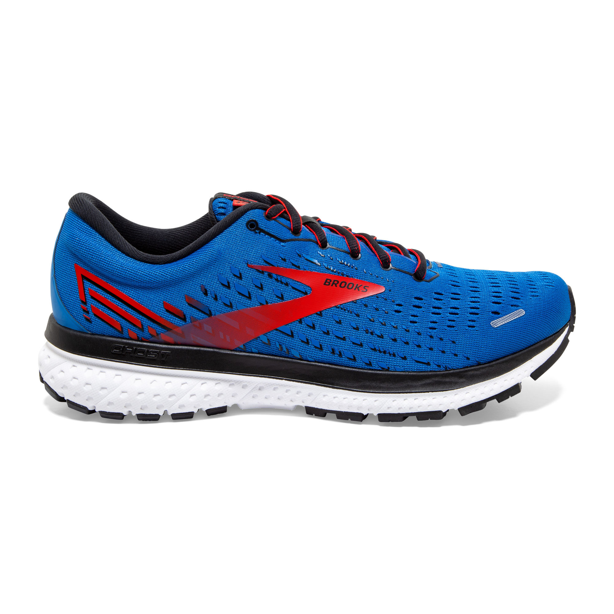 Brooks Ghost 13 (Blau Rot Weiß)