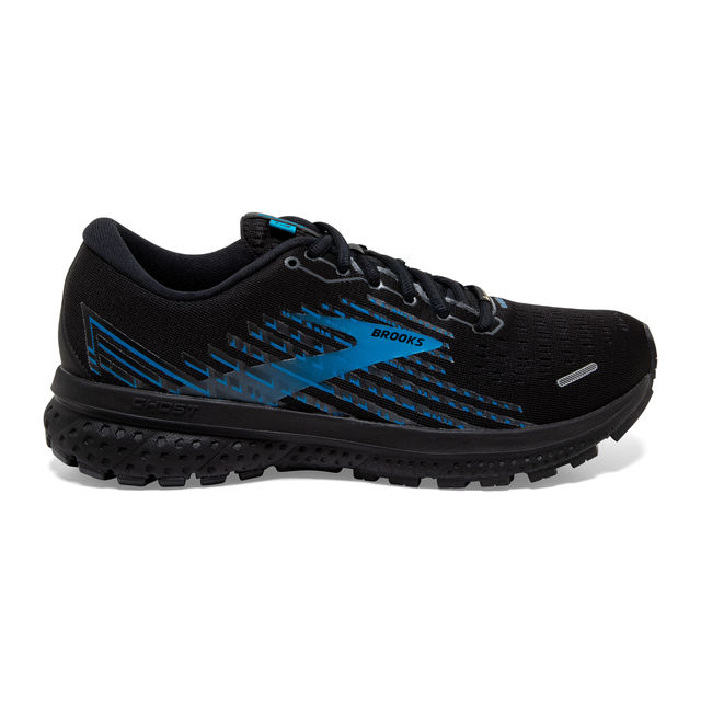 Brooks Ghost 13 GTX (Black Grey Blue)