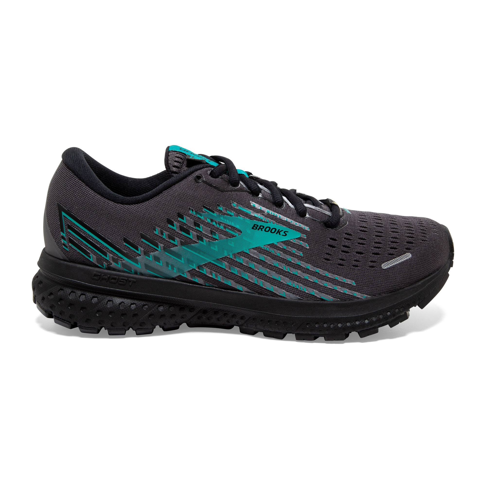 Brooks Lady Ghost 13 GTX (Black Black Peacock)