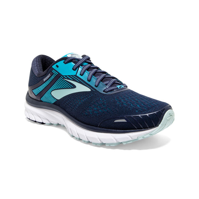 Brooks Lady Defyance 11 B (Navy Teal White)