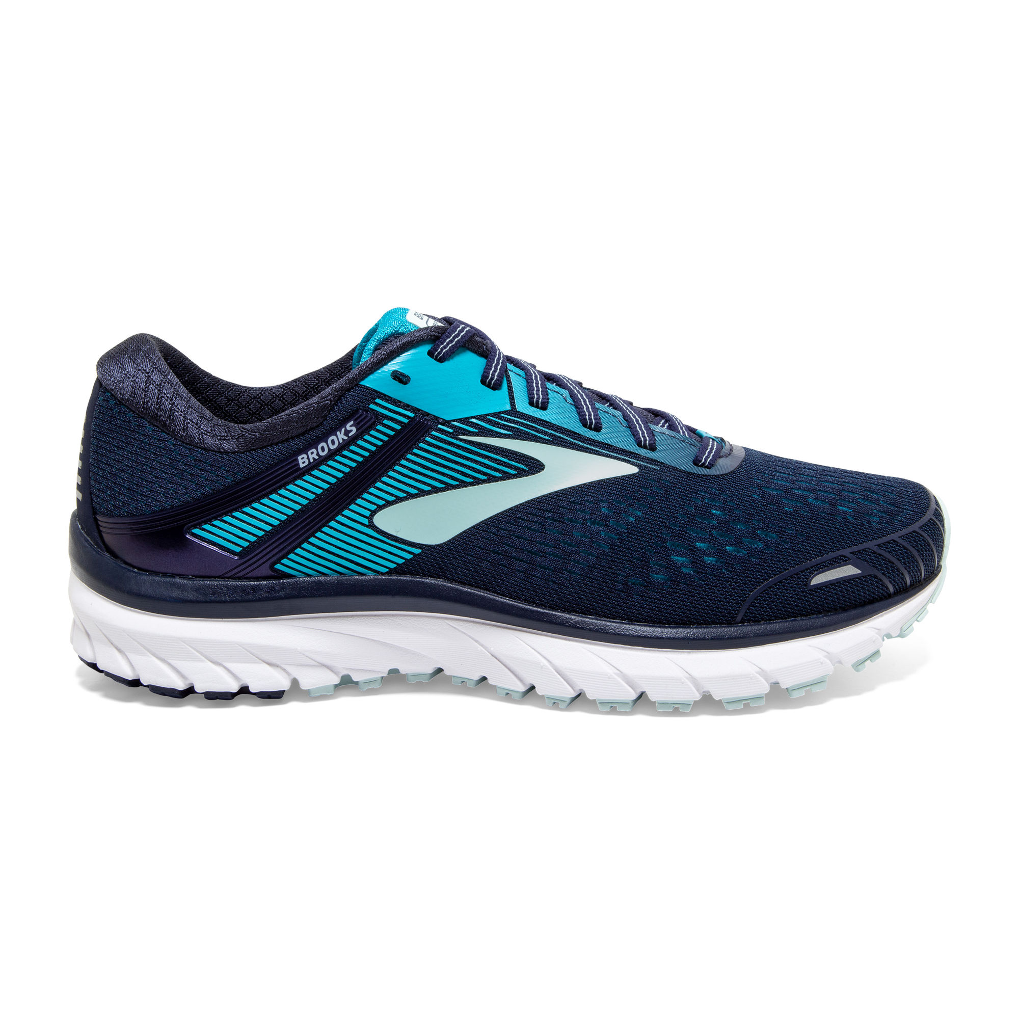 Brooks Lady Defyance 11 B (Blau Aquamarin Weiß)