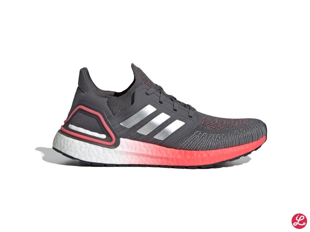 adidas UltraBoost 20 w (Grau Pink Silber Weiß)