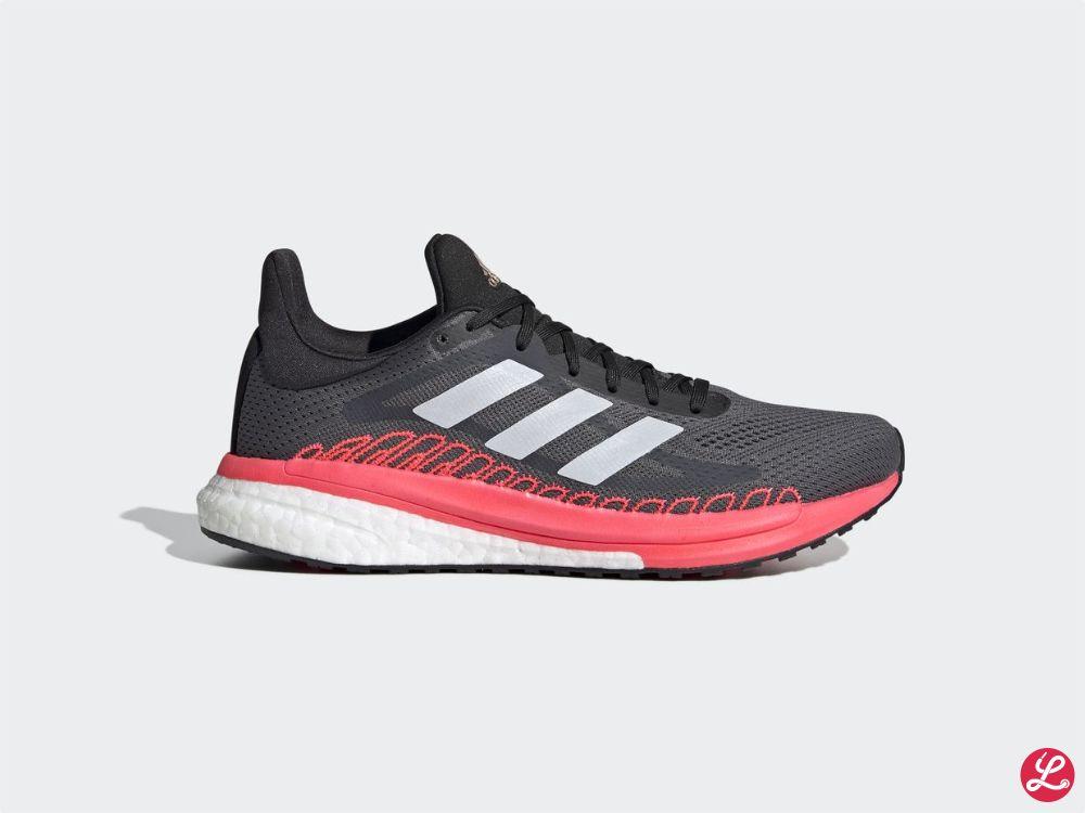 adidas Solar Glide ST 3 w (Schwarz Silber Pink Weiß)