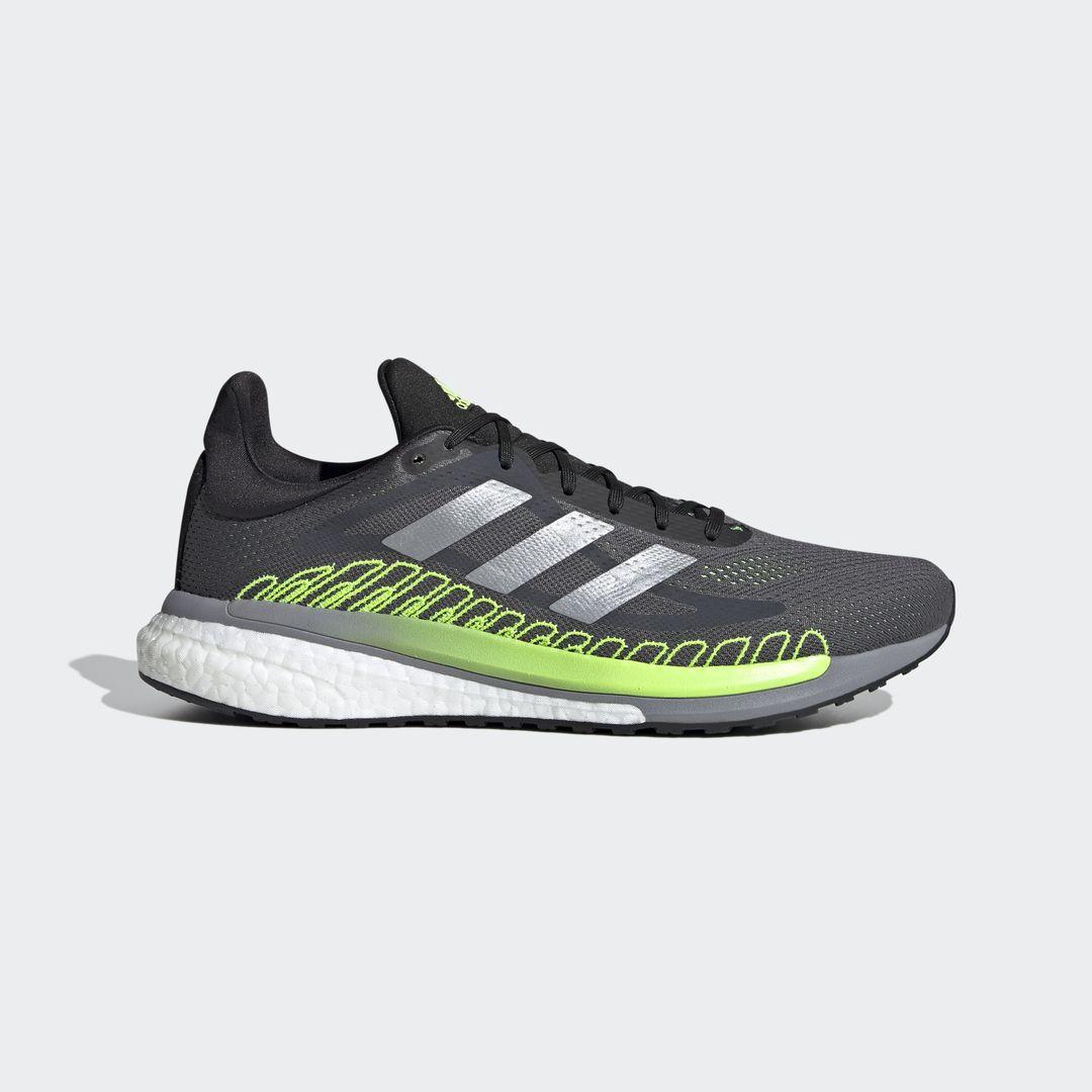 adidas Solar Glide ST 3 (Schwarz Grau Grün Weiß)