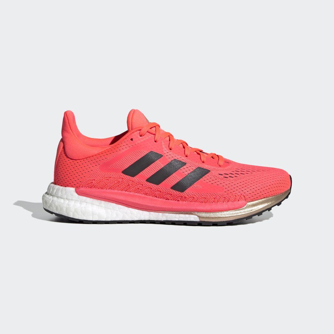 adidas Solar Glide 3 w (Pink Schwarz Weiß)