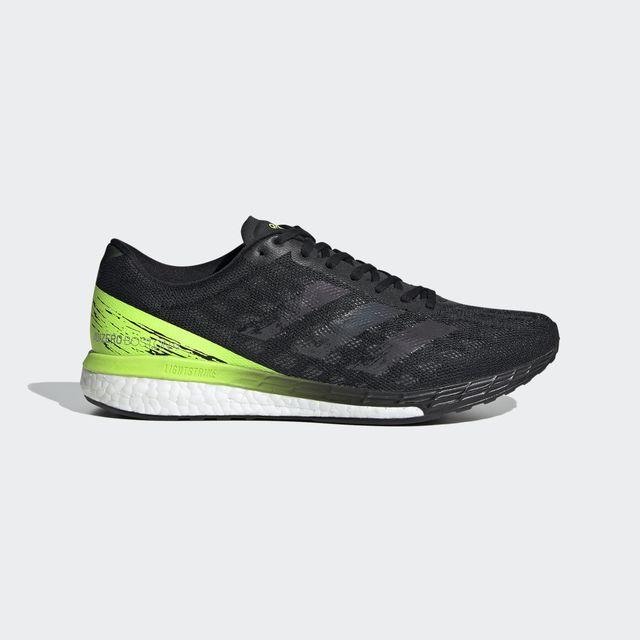 adidas Adizero Boston 9 (Schwarz Grün Weiß)