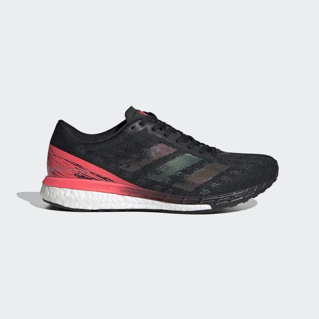 adidas Adizero Boston 9 w (Schwarz Rot Weiß)
