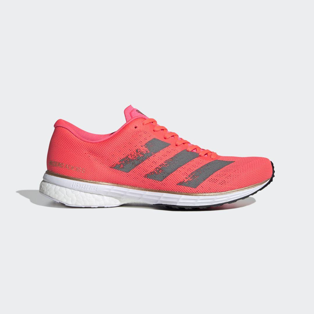 adidas Lady Adizero Adios 5 (Rot Pink Weiß)