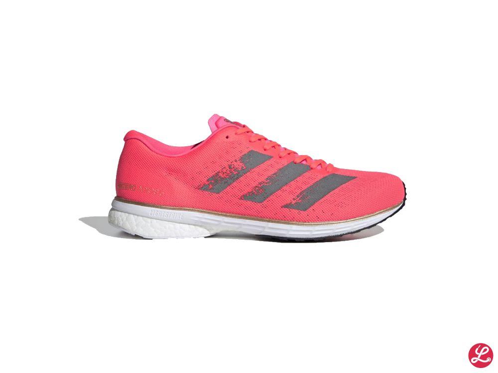 adidas Adizero Adios 5 (Rot Pink Weiß)