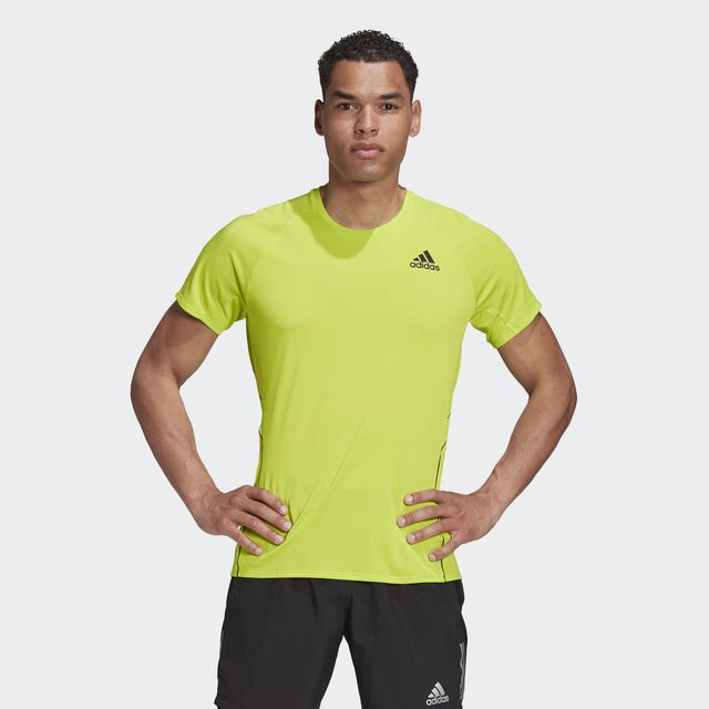 adidas Adi Runner Tee (Signal Green)