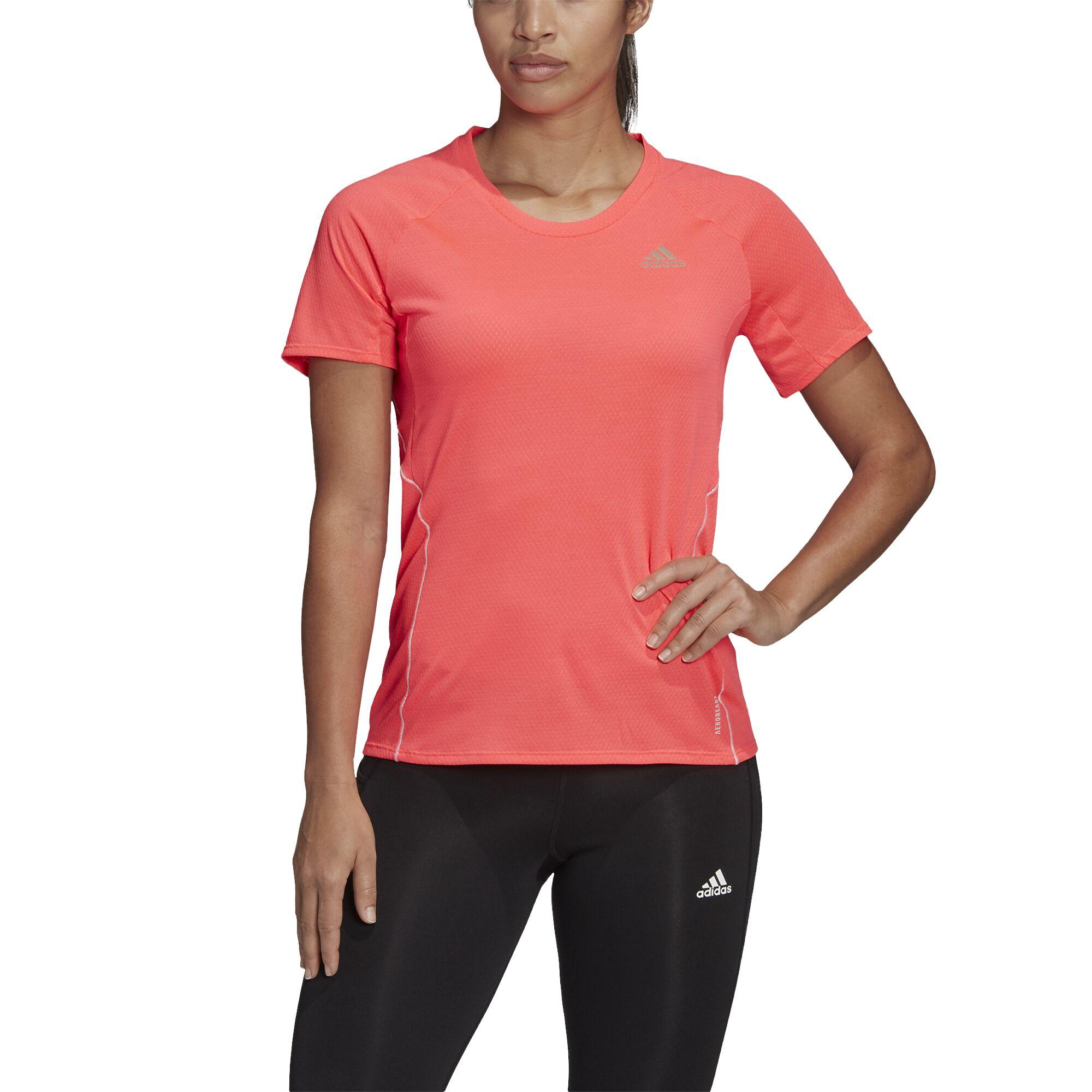 adidas Lady Adi Runner Tee (Signal Pink)