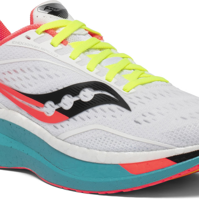 Saucony Lady Endorphin Speed (Weiß Bunt)